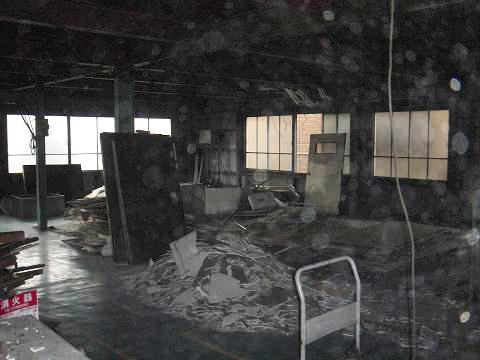 大田区鉄骨造の工場