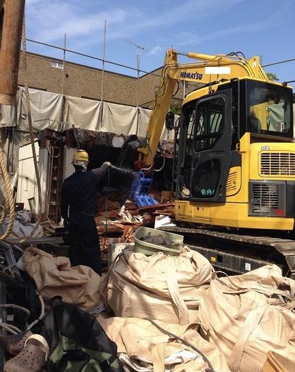 解体工事の品質