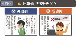<<前へ「坪単価1万8千円??」