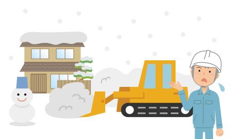 「雪」が降ったらどうなるの?